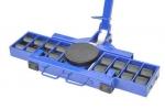 X16+Y16 16+(8+8)32 тонны.Роликовая система для перемещения тяжелых грузов