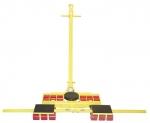 Х12+Y12 12+(6+6) 24- 24 тонны.Роликовая система для перемещения тяжелых грузов