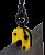 DSQA(Г/П 5,0 Т, ЛИСТ 0-40 ММ)ЗАХВАТ ВЕРТИКАЛЬНЫЙ  поворотный