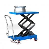 Передвижной стол на колёсах Pfaff Silberblau.