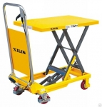 Гидравлический подъемный стол на колесах XILIN