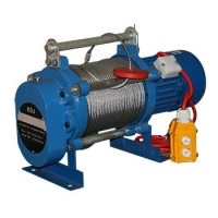 Лебедка электрическая KCD 300/600 30м/15м U=220В