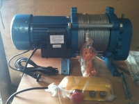 Лебедки электрические модели KCD