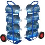 ВД-4.Тележка для перевозки 4-ёх баллонов с водой.