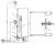 DT300B Тележка высокоподъемная для бочек