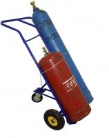 КП-2.Тележка специализированная для перевозки двух газовых баллонов