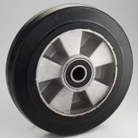 Колесо рулевое для рохлы 200 мм. литая резина