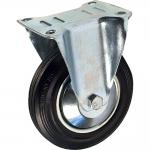Комплект платформенных колес Ø125 мм серая резина (г/п 300кг).
