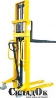 Штабелер ручной гидравлический SDJ1025.