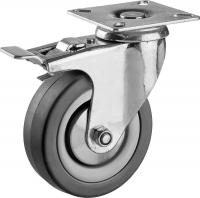 Комплект литых колес с тормозом Ø160 мм.