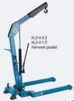 "Кран складной гидравлический ""PFAFF Silberblau"" Silverline HWK KLS 1,0 т."