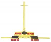 ХY24тонны,12т+(6т+6т) Роликовая система для перемещения тяжелых грузов