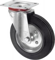 Комплект колесных опор с чугунным ободом Ø250 мм.